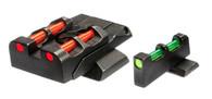 HIVIZ S&W M&P Adjustable Sight Set W/Interchangeable LitePipes (SWMPE21)