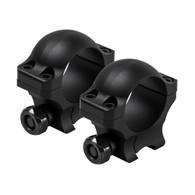 "VISM Hunter Series 3/8"" Dovetail 1"" Rings-0.9"" Height (VR38D09)"