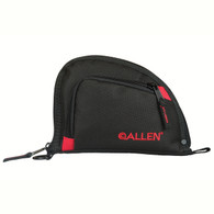 "Allen 7"" Compact Handgun Case W/Outer Pocket-Black/Red (7707)"