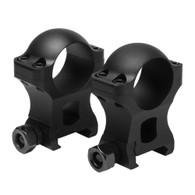 "VISM Hunter Series 1"" Scope Rings-1.3"" Height (VR1H13)"
