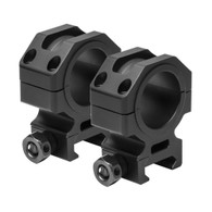 "VISM 30mm Tactical Series Rings W/1"" Removable Inserts-1.1"" Height (VR30T11)"