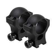 "VISM Hunter Series 3/8"" Dovetail 1"" Rings-1.3"" Height (VR38D13)"