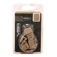 VISM KeyMod 1 Slot Covers-Pack of 18-Tan (VAKM1CT)