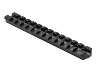 "NcSTAR Mossberg 500/590 Shotgun Receiver Picatinny Rail-5.4""-Black (MSHRCVMOS)"