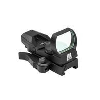 NcSTAR Blue Four Reticle Reflex Sight W/Quick Release Mount (D4BLQ)