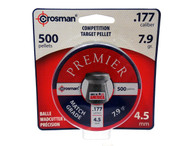 Crosman .177 Cal Premier Match Grade Pellets-Tin of 500 (LM77)