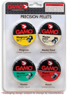GAMO .177 Cal Combo Pack Performance Pellets-250 Each Tin (632092754)