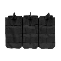 VISM AR Triple Mag Pouch For .223/5.56/7.62 Double Stack Magazines (CVAR3MP2928B)