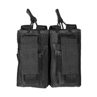 VISM AR Double Mag Pouch For .223/5.56/7.62 Double Stack Magazines (CVAR2MP2927B)