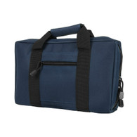 VISM Discreet Pistol Case-Blue/Black Trim (CPBL2903)