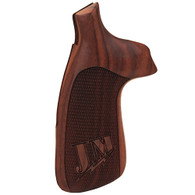 Hogue S&W N Frame Round Butt Grips Convert Pau Miculek JM, Checkered-25315