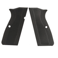 Hogue Browning Hi Power Grips G-10 Solid Black-09169