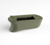 Hogue Rubber Extended Magazine Base Pad For Kimber Micro 9-OD Green (39031)