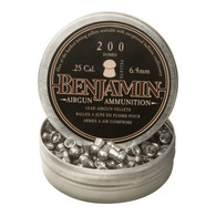 Benjamin Sheridan .25 Caliber Domed Lead Pellets-27.8gr-Tin of 200 (BD225)