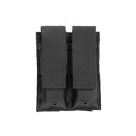 VISM Double Pistol Mag Pouch-Black (CVP2P2931B)