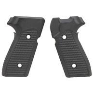 Hogue Sig P225-A1 Grip Piranha G10, Solid Black-27129