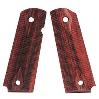 Hogue Colt & 1911 Government Grips Kingwood, Checkered-45611