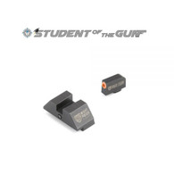 Night Fision Perfect Dot Accur8 Night Sight Set For Glock Low (GLK-001-015-OGZG)