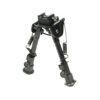 "Leapers UTG Tactical OP Bipod-Rubber Feet-6.1""-7.9"" (TL-BP78)"