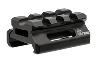 "Leapers UTG Super Slim 0.5"" Riser Mount-3 Slot (MT-RSX5S)"