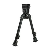 "NcSTAR Universal Bipod W/QR Mount-Notched Legs-8.25""-11"" (ABUQNL)"