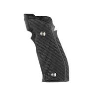 Hogue Sig P226 SAO X5/X6 Grips Pirahna G10 G-Mascus Solid Black-33139