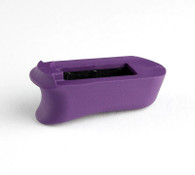 Hogue Rubber Extended Magazine Base Pad For Kimber Micro 9-Purple (39036)