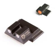 Night Fision Tritium Night Sight Set For S&W M&P Shield  (SAW-202-007-OGWG)
