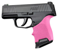Hogue HANDALL Beavertail Rubber Grip Sleeve For Sig Sauer P365-Pink (18707)