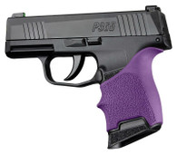 Hogue HANDALL Beavertail Rubber Grip Sleeve For Sig Sauer P365-Purple (18706)