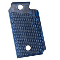 Hogue Sig P938 Ambidextrous Extreme Series Grip Piranha G-Mascus G10, Blue Lava-98628
