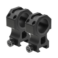 "VISM 30mm Tactical Series Rings W/1"" Removable Inserts-1.5"" Height (VR30T15)"