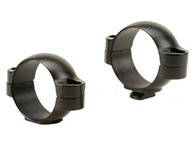 Leupold 30mm Standard Steel Rings-Low Height-Matte Black (51718)