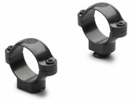 Leupold 30 mm Standard Steel Rings-High Height-Gloss Black (49961)