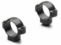Leupold 30 mm Standard Steel Rings-High Height-Gloss Black (49961)