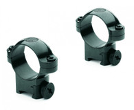 "Leupold 1"" Ringmounts Rimfire 3/8""-Medium Height-Gloss Black (54289)"