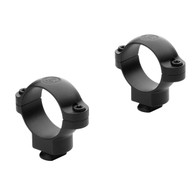 "Leupold 1"" Dual Dovetail Rings-Steel-Super High-Matte Black (49919)"