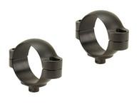 Leupold 30mm Quick Release Steel Rings-Low Height-Matte Black (51717)