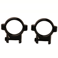 "Burris 1"" Signature Zee Rings W/Pos-Align Inserts-Med Height-Gloss Blk (420520)"