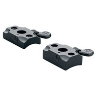 Leupold Traditions Inline Quick Release 2 Piece Base-Matte Black (52315)