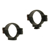 Leupold 30mm Standard Steel Rings-Med Height-Gloss Black (49960)