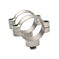 Leupold 30mm Dual Dovetail Steel Rings-High Height-Silver (57314)