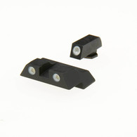 Meprolight Tru-Dot Tritium Night Sight Set For Glock 26/27 Pistols (ML10226)