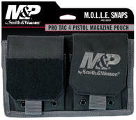 Smith & Wesson M&P Pro Tac 4 Pistol Magazine Pouch-Black (110178)