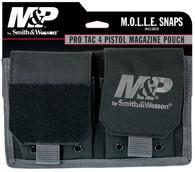 Smith & Wesson M&P Pro Tac 4 Pistol Magazine Pouch-Black (110178)