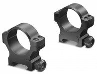 "Leupold Backcountry 1"" Low Height Cross-Slot Rings-Matte Black (175116)"