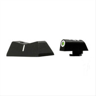 XS Sights DXW Standard Dot Night Sight Set For Glock 42/43/43X/48 (GL-0003S-4)