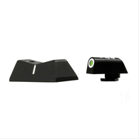 XS Sights DXW Standard Dot Night Sight Set For Glock 42/43/43X/48 (GL-0003S-4)