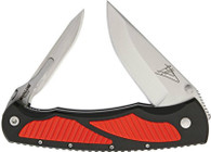 Havalon Titan Jim Shockey Signature Series Double Folder Knife-Red (XTC-TRED)