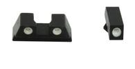 Meprolight Tru-Dot Tritium Night Sight Set For Glock 42/43 (ML-10220)